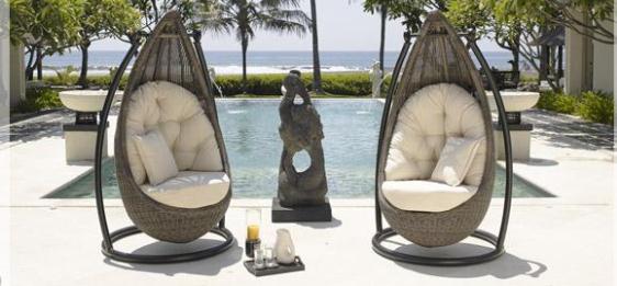 Naturalny urok krzeseł wyplatanych